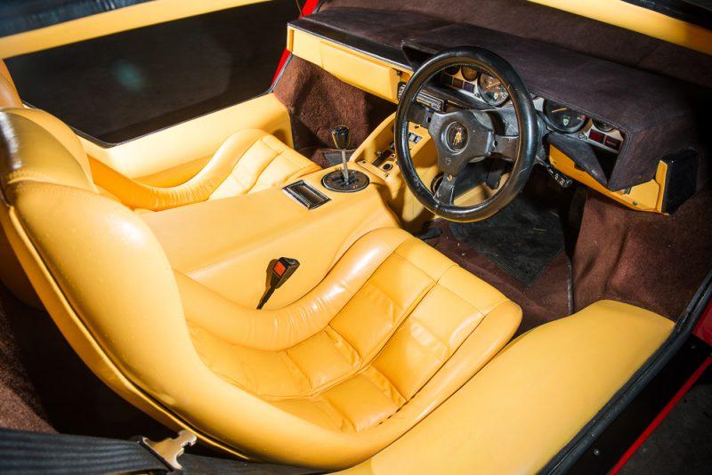 1983 Lamborghini Countach Lp500s Interior 2 Hr Car Obsession