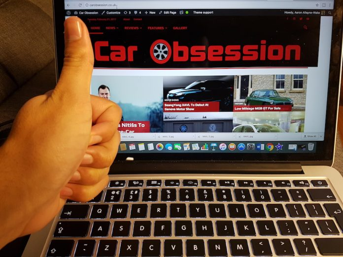 Car Obsession is a year old!