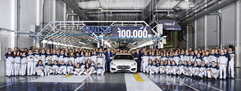 Maserati 100,000th Model