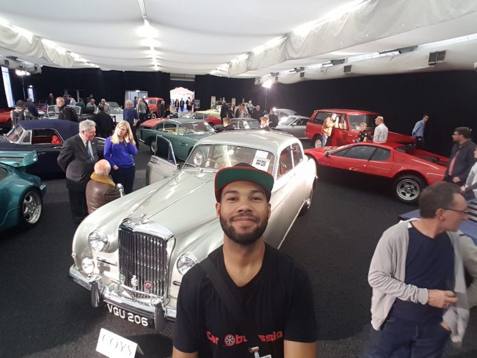 Classic Car Selfie