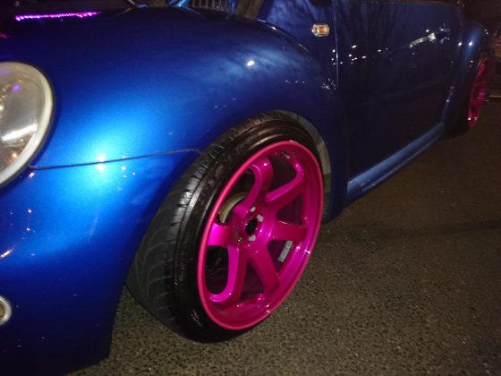 Modded VW Beetle Alloys