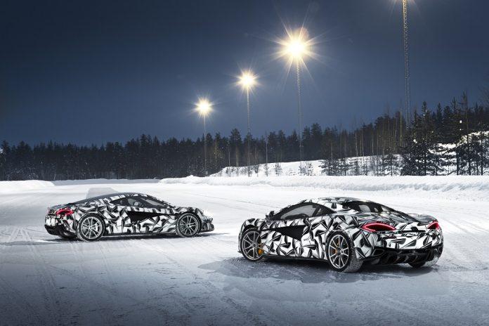 McLaren Ice Driving Experience