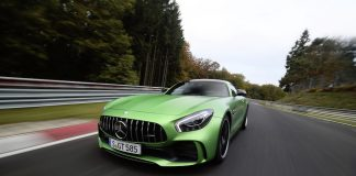 Mercedes AMG GTR at Nurburgring