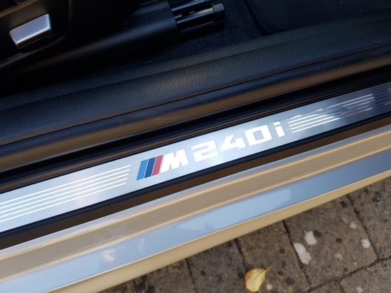 BMW M240i Scuff Plate