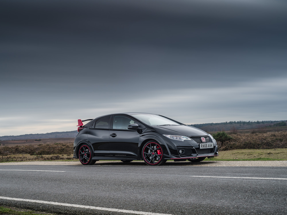 Black Edition Civic Type R