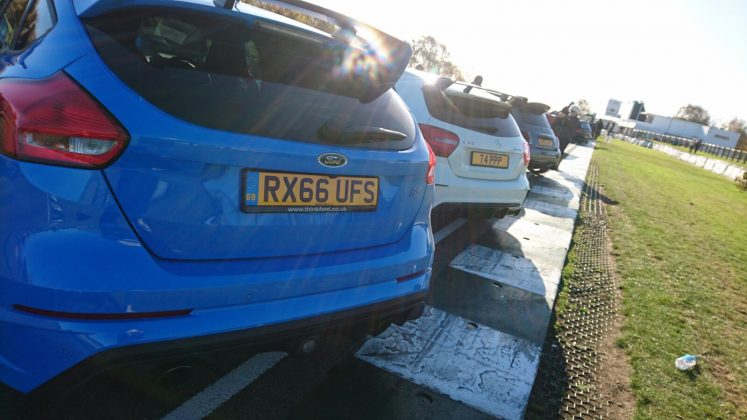 Focus RS and A45 AMG