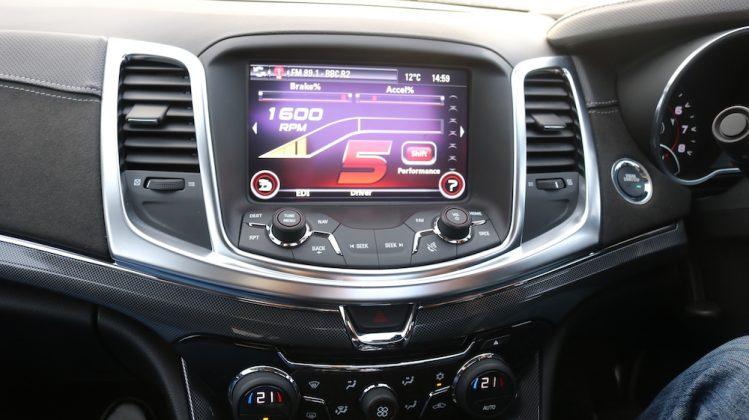 Vauxhall Maloo Infotainment