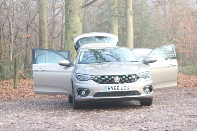 Fiat Tipo Doors Open