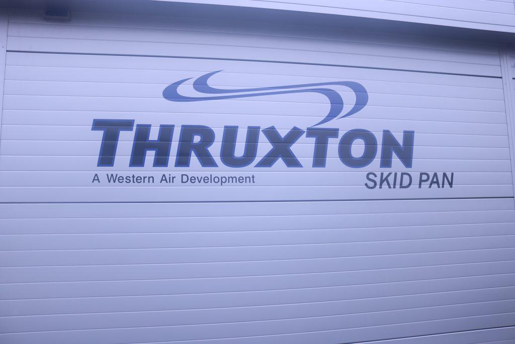 Thruxton Skidpan