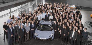 Mclaren 10,000th model
