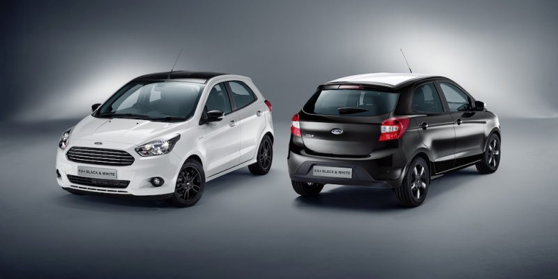 Ford Ka+ Black/White