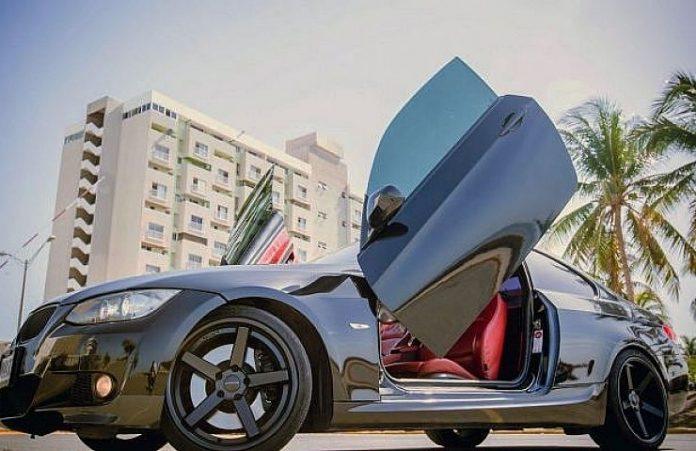 Usain Bolt's BMW