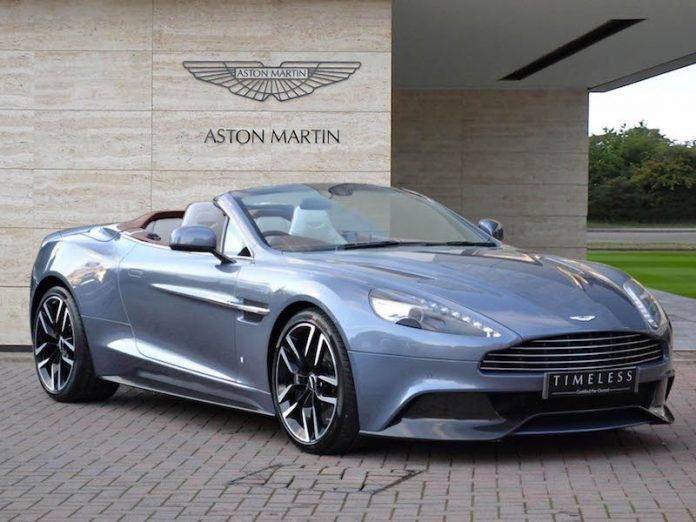 Exclusive Aston Martin Vanquish Volante