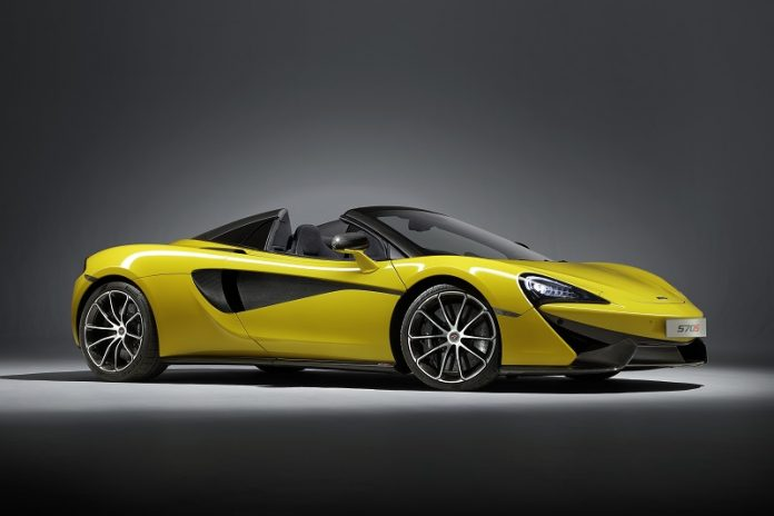 New 570S Spider