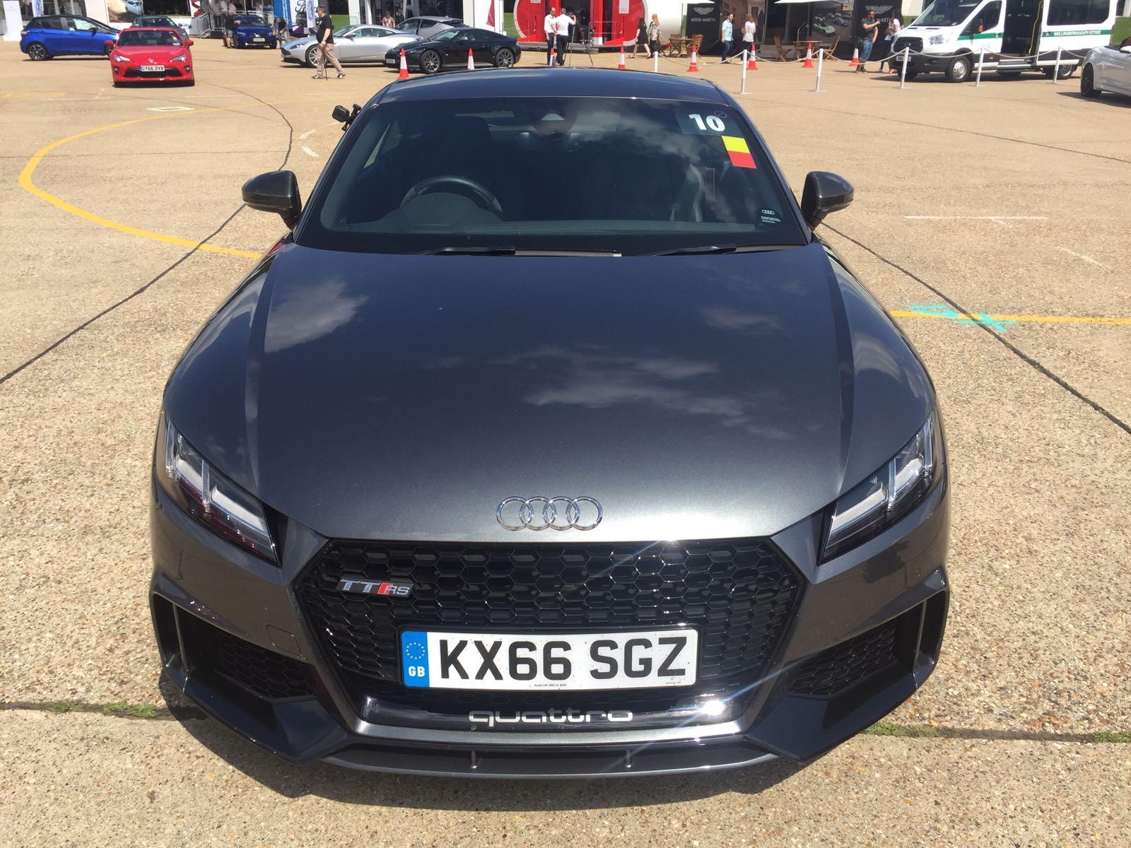 Audi TT RS First Drive