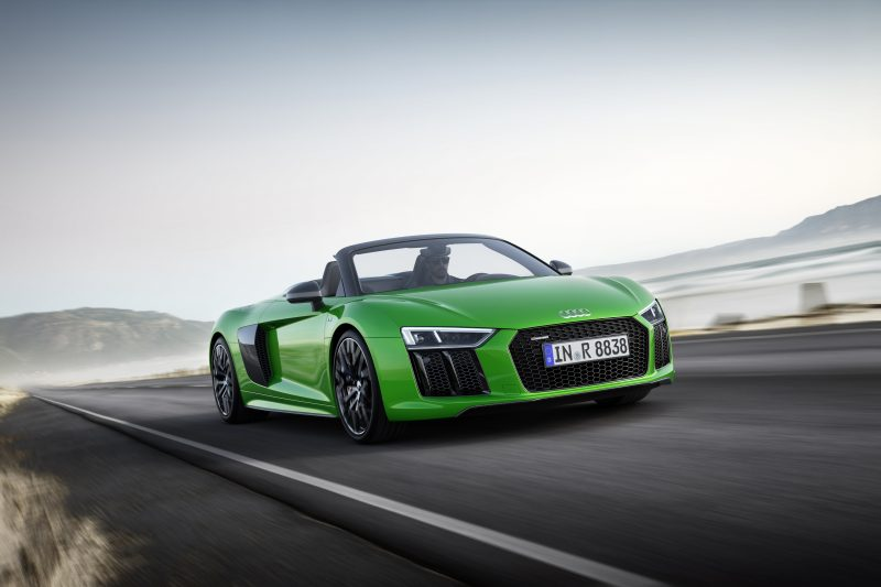 New R8 Spyder V10 Plus