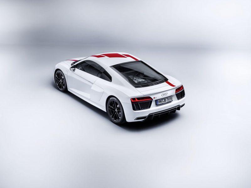 New Audi R8 RWS