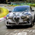 Stelvio Quadrifoglio Sets New Nurburgring Record