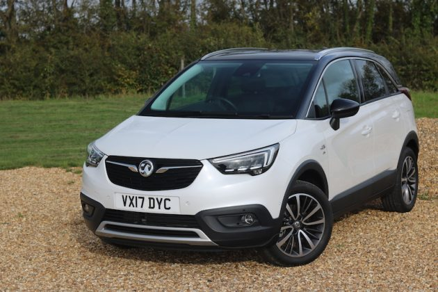 Vauxhall Crossland X First Drive