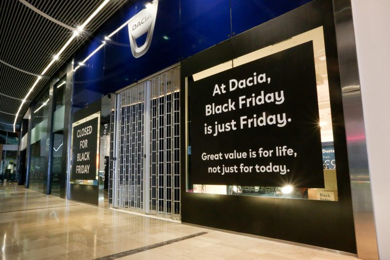 Dacia Black Friday