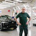 Jose Mourinho Pays Surprise Visit To Jaguar