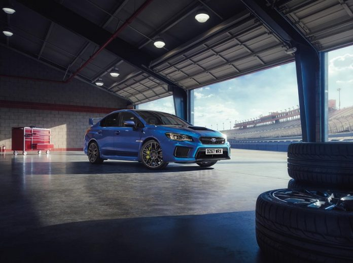Subaru WRX STI Final Edition 2