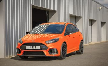 New Focus RS Heritage Edition