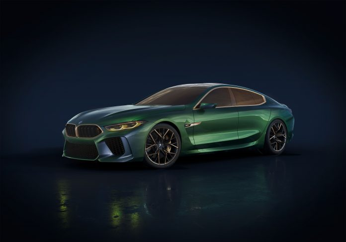 New BMW M8 Gran Coupe