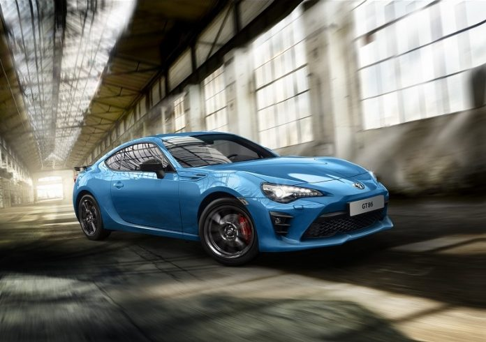 GT86 Blue Edition