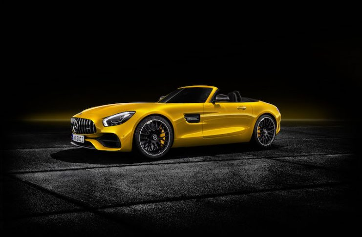 New Mercedes AMG GTS Roadster