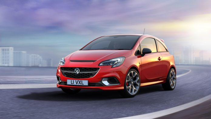 New Vauxhall Corsa GSi