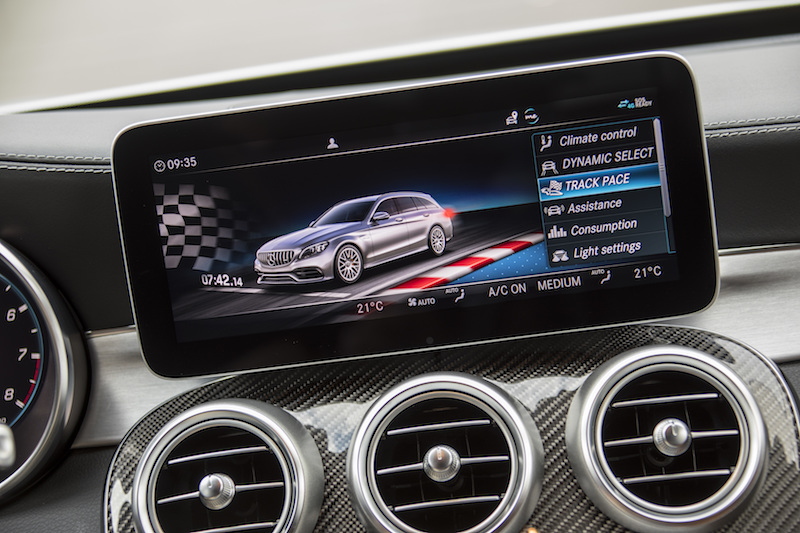 New Mercedes-AMG C63