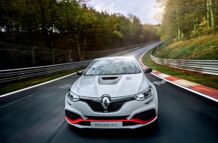 New Renault Megane RS Trophy-R